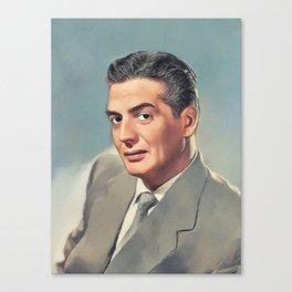 Victor Mature, Movie Legend Canvas Print