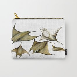 Chilean devil manta ray (Mobula tarapacana) Carry-All Pouch