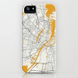 Copenhagen map iPhone Case