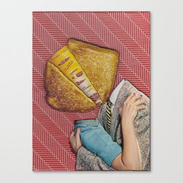 Grilled Cheese Love No. 28 Canvas Print