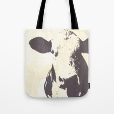 Rustic Cow Tote Bag