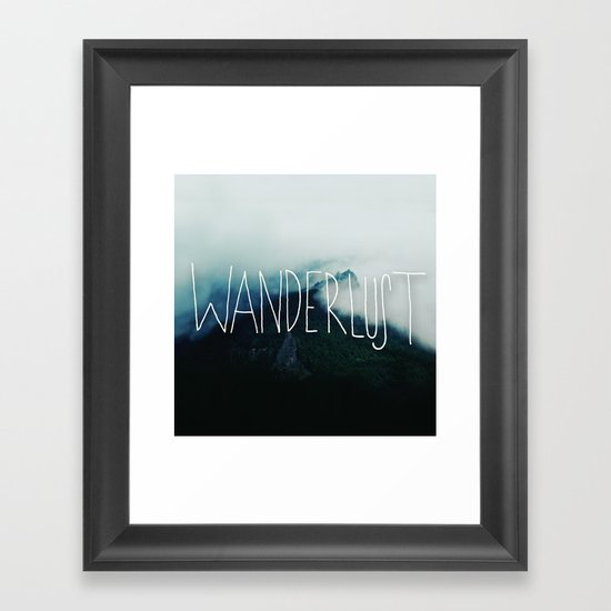 Wanderlust: Columbia River Gorge Framed Art Print