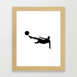 Futbol / Football / Soccor Framed Art Print