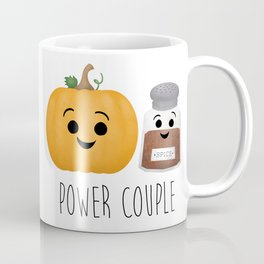 Pumpkin + Spice = Power Couple Coffee Mug