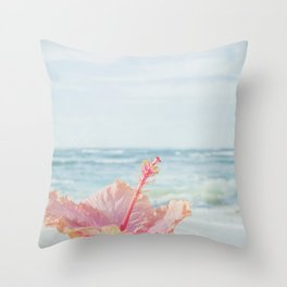 The Blue Dawn Throw Pillow