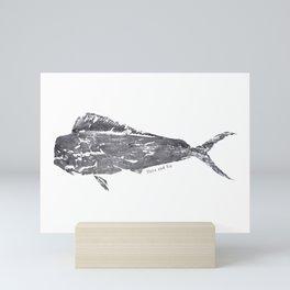 Mahi Mahi Print Mini Art Print