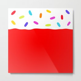 Jelly 'n' Sprinkles Metal Print