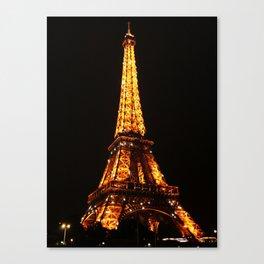 Eiffel Tower2 Canvas Print