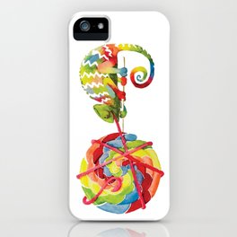 Candy Chameleon iPhone Case