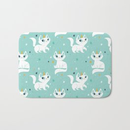Magical Unicats! Bath Mat