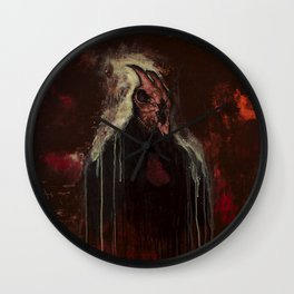The Goat Thief Wall Clock