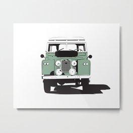 Land Rover Series IIa Metal Print