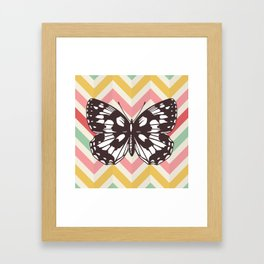 Colorful Butterfly Print - Buttefly Home Decor Framed Art Print