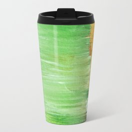 Modern Green Abstract Travel Mug