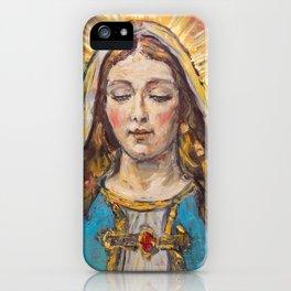 Beata Virgen Maria iPhone Case