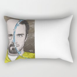 CIRCLEFACES Rectangular Pillow