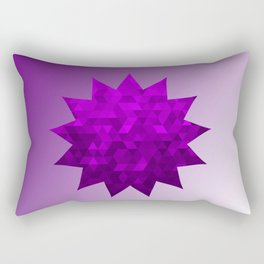 Kwan Yin's Star | Purple Flame | Compassion Rectangular Pillow