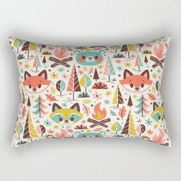 Forest Friends Rectangular Pillow