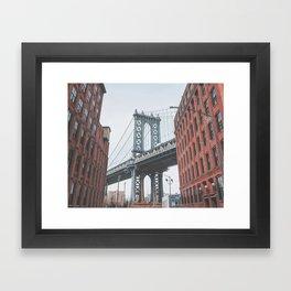 Dumbo Brooklyn New York City Framed Art Print