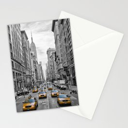 5th Avenue NYC Traffic Stationery Cards