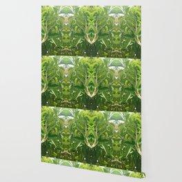 Jungle Mirror Wallpaper