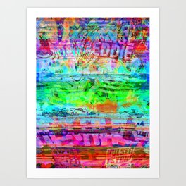 coupled with a sense of complicity, or complexity, Art Print