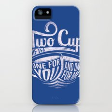 Two cups of tea iPhone (5, 5s) Slim Case