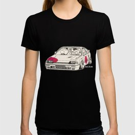 Crazy Car Art 0165 T-shirt