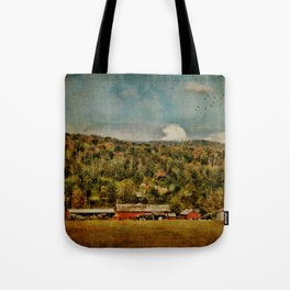 Artistic Farming Tote Bag