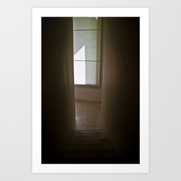 Go to the Light Art Print