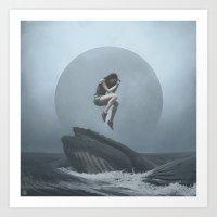 venus Art Prints featuring Venus by yurishwedoff