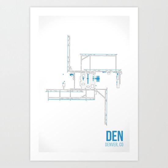 DEN Art Print