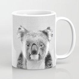 Koala - Black & White Coffee Mug