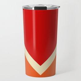 Summer Sun Retro Style Stripes Amaterasu Travel Mug