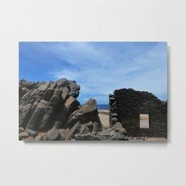 Bushiribana Ruins Metal Print