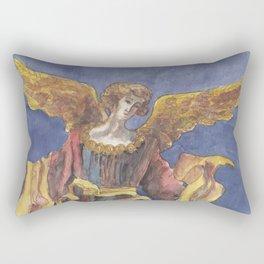 Angel of Proclamation Rectangular Pillow