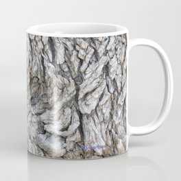 TEXTURES -- Blue Elderberry Bark Coffee Mug
