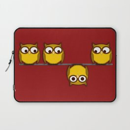 A whole new perspective for the owl Laptop Sleeve