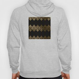 Reims, France: Luxueux Black and Gold Art Deco Hoody