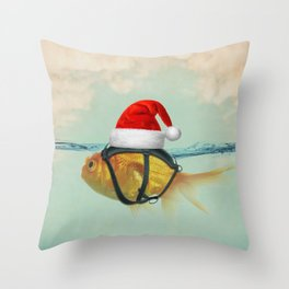 A Brilliant Disguise Christmas Throw Pillow