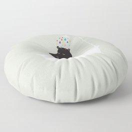The Happy Shower Floor Pillow