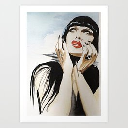 Pete Burns Art Print