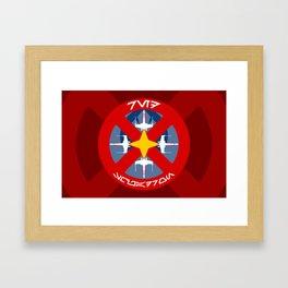 Red Squadron (Alliance) Framed Art Print