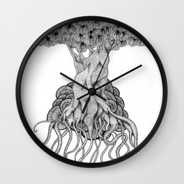 we're made from trees Wall Clock