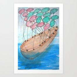 Fly me Away... Art Print