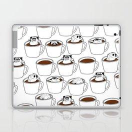 More Coffee Pug Laptop & iPad Skin