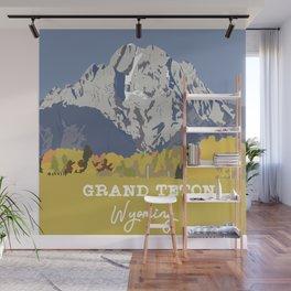 Grand Teton in Wyoming Wall Mural