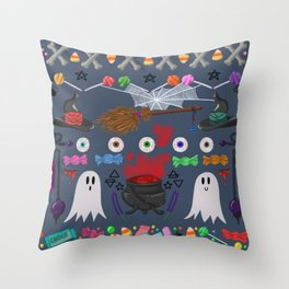 This is Halloween #5 Throw Pillow