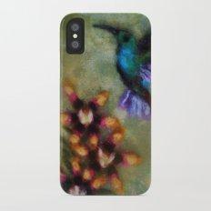 Hummingbird iPhone X Slim Case
