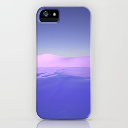 Purple Beach iPhone Case